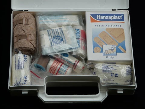 First Aid Kit Contents Checklist