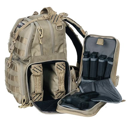 GPS Tactical Range Backpack Compartments